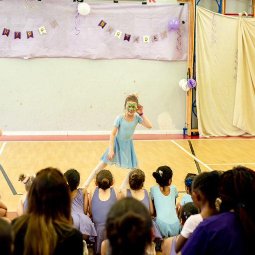 little dancers performing