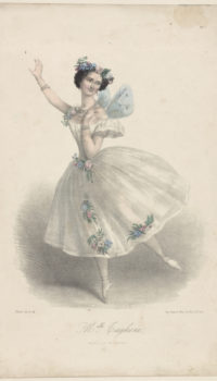 Evolution of the Tutu - Marie Taglioni, the first ballerina to wear a tutu