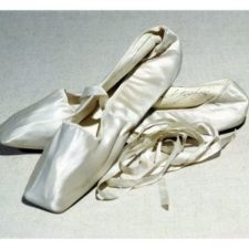 Marie Taglioni's pointe shoes